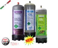 maxxiline disposable co2 bottles